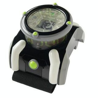 Ben 10 Deluxe Omnitrix Watch with Lights Sounds Game Play LCD RARE
