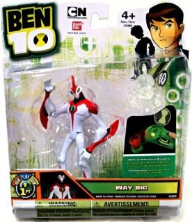 Ben 10 Ultimate Alien 4 Action Figure Way Big Waybig FACTORY NEW