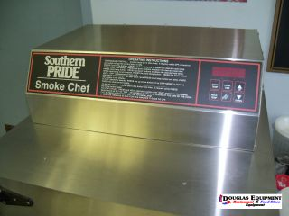 New Southern Pride SC 200 Electric Wood Smoker Oven