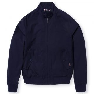 Ben Sherman Mens Classic Harrington Hove Navy Retro Mod Jacket UK s