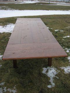 Classic Ten Foot Farm Table