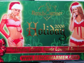 Benchwarmer 2006 Holiday Box Set 24 Cards