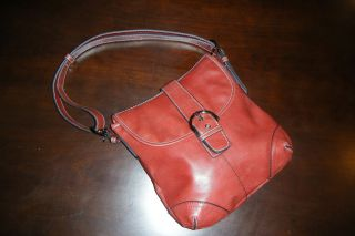 Bellerose Designer Soft Leather Handbag Good Condition
