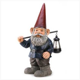 forest gnome home garden yerd patio decor figurine description a