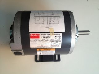 Dayton 3K617C HVAC Belt Drive Fan Blower Motor 3 4 HP New