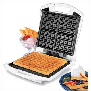 Hamilton Beach Four Square Belgian Waffle Maker 26050