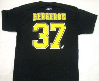 boston bruins patrice bergeron youth t shirt jersey