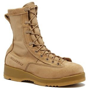 Belleville Army Combat Boot Temperate Weather Size 10