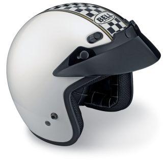 Bell Helmets R T RT Helmet Motorcycle 3 4 Open Face Champ Large L New