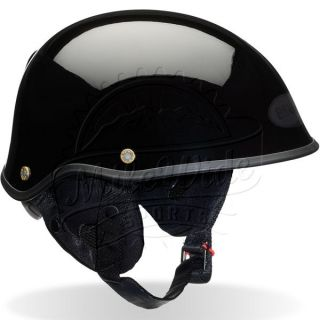Bell Drifter Dlx Motorcycle Helmet Gloss Black x Large