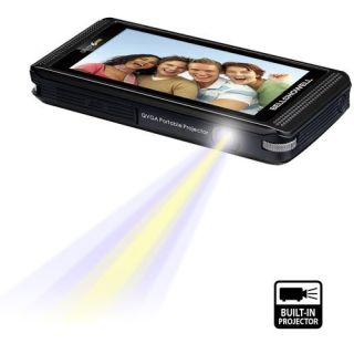 Bell Howell Pocket Cinema HD Camcorder w Projector 084438900422