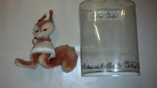 Betsy Belle Toy Squirrel from France