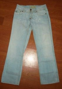 Me Lucy Distressed Flap Pocket Denim Stretch Jeans Bellmore JP4090C 26