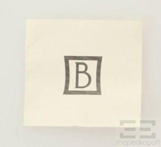 Bernardaud Multicolor Swirl Porcelain & Gold Tone Ring Size 8