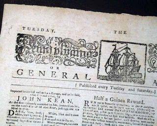 Benedict Arnold John Paul Jones 1780 Revolutionary War Phila PA Old