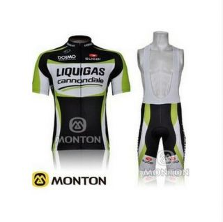 2012 Outdoor Sports Bicycle Team Bike Cycling Jersey Bib Shorts s 3XL