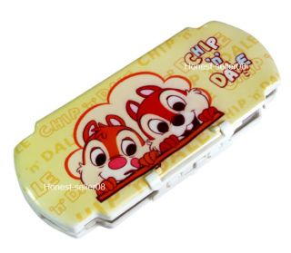 Chip Dale Hard Custom Game Cover Case For Sony PSP 2000 3000
