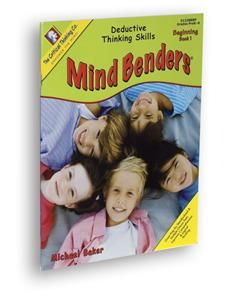 prek kindergarten mind benders thinking puzzle book