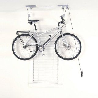 Silverline 20kg Cycle Bicycle Bike Garage Shed Storage Pulley Lift