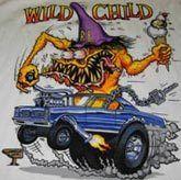 Big Daddy Ed Roth Hot Rod Tee Wild Child Muscle Car