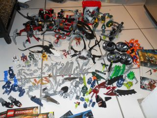 Big LOT LEGO BIONICLES TOA TERRAIN CRAWLER 8927 8947 ENFORCE 8100 8101