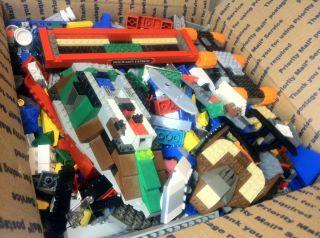 Large LEGO LOT Bricks & Parts 8 lb Harry Potter Star Wars City Space