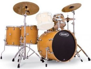 Mapex Meridian Maple Big Rock 22 5pc Shell Pack GL Natural Free