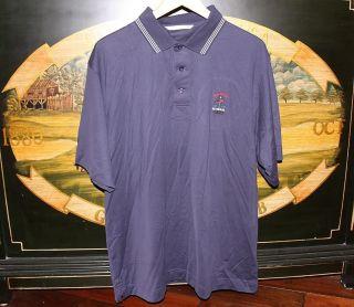 Golf Polo Shirt Cutter Buck Pima US Open 2009 Bethpage Black