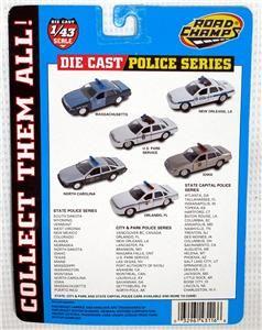 Road Champs Police Car Series Bentonville, Arkansas 98 Ford Crown