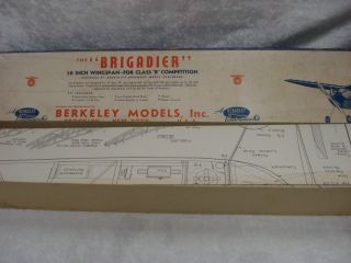 Berkeley Brigadier C L Model Airplane Kit
