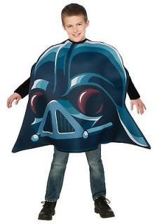 ANGRY BIRDS Star Wars Darth Vader Child Boys COSTUME Halloween One