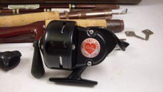Berkley Parametric Fly Spin Fishing Rod Reel Case with Keyes Spincast