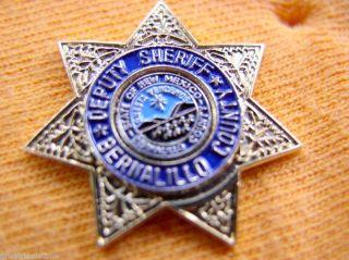 Deputy Sheriff Bernalillo County New Mexico Proud Gold Star Mini Lapel