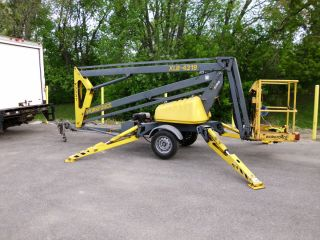 BIL JAX XLB 4319 (tow behind trailer) Hydraulic Aerial Boom Lift   No