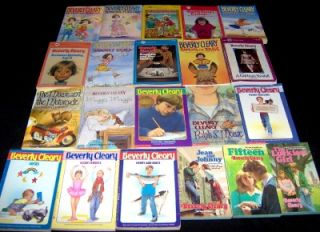 21 All Beverly Cleary Children Newbery Award Book Lot Ramona Beezus