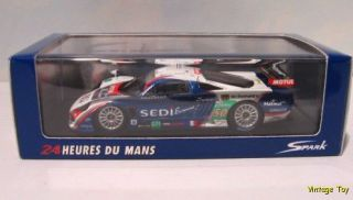 Saleen S7 R Larbre Spark 1 43 Race Car Diecast LMGT 1 Class Winner
