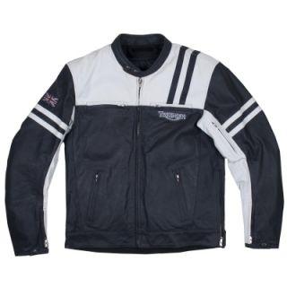 triumph men s berwick leather jacket