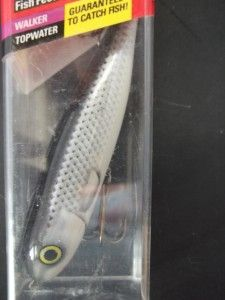 NIP Berkley Frenzy Grey Ghost Fishing Lure