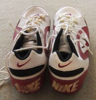 Terrell Owens Game Used San Francisco 49ers Cleats COA Provenance