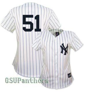 Bernie Williams New York Yankees Replica Home Jersey Womens Sz s XL