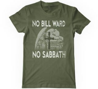 Black Sabbath No Bill Ward No Sabbath Tee Shirt  Lalapalooza