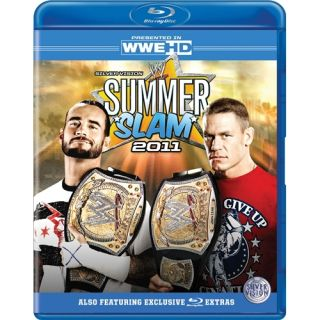 WWE Summerslam 2011 Rey Mysterio cm Punk New Blu Ray 5021123146579