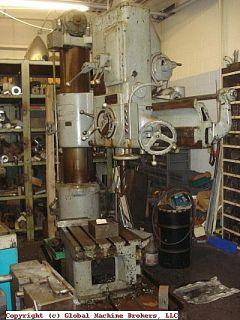 cincinnati bickford 60 x 60 radial drill press item 7353