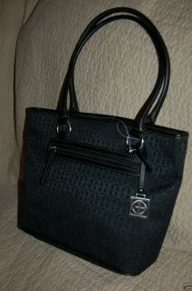 Giani Bernini Black Tote Bag Handbag Shoulder Retail $88