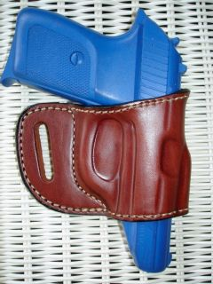 Leather Yaqui Belt Slide RH Holster 4 Bersa Thunder 380