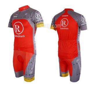 Outdoor bicycle Cycling clothing shirt Bike jerseys + bib short Pants