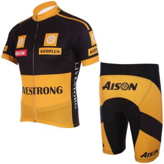 Cycling Jersey short bicycle shirt clothes bike wear suit + pants Size
