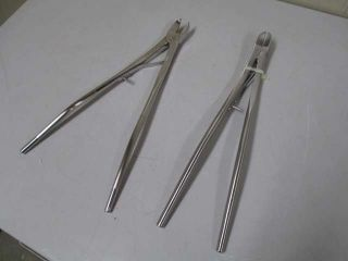 Lot of 2 Bethune 13 5 Medical Surgical Bone Cutting Forceps Solway