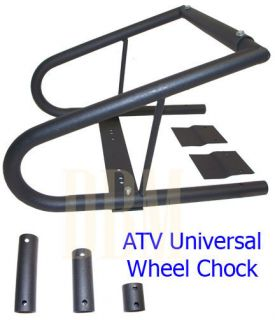 ATV Universal Wheel Chock Motorcycle Bike Trailer Tire Adjustable 3 5