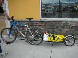 Bob Trailer Yak 28 Bike Cargo Trailer Carrier No Dry Bag New 29er 700c